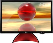 abstract red sphere